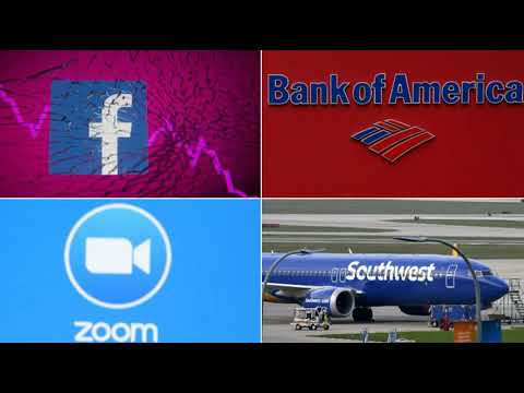 Major Outages Hit Bank of America, Southwest Airlines, Zoom, Snapchat & Others After FB Crash